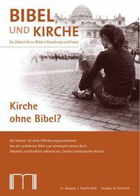 Kirche ohne Bibel?