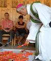 Wort-Gottes-Feier mit Bischof Jean-Marie Lovey (c) Oswald König-Tafur