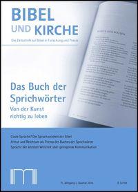 Das Buch der Sprichwörter BiKi 3-16