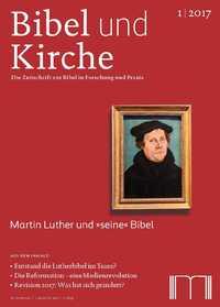 Bibel und Kirche 1/17 - Titelseite