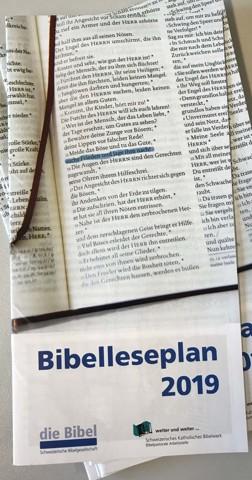Bibelleseplan 2019 Bibelwerk