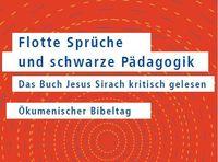 Ökumenischer Bibeltag Jesus Sirach